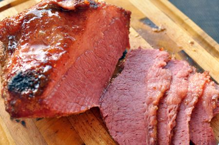 Rachael Ray Blogs: Go Beyond The Boil This Saint Patrick's Day:Baked Brown Sugar Corned Beef