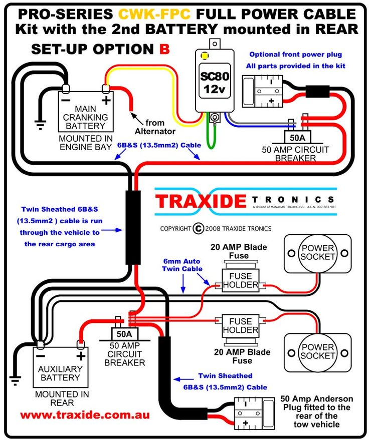 31 best 4Runner images – Limo Dual Battery Isolator Wiring-diagram