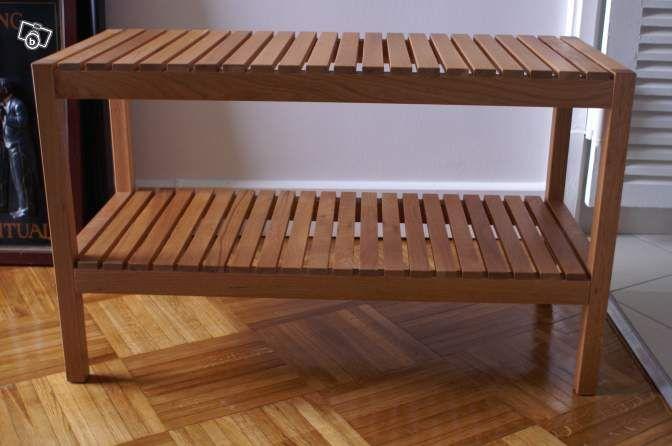 banc de salle de bains ameublement paris entree pinterest banc de salle de. Black Bedroom Furniture Sets. Home Design Ideas