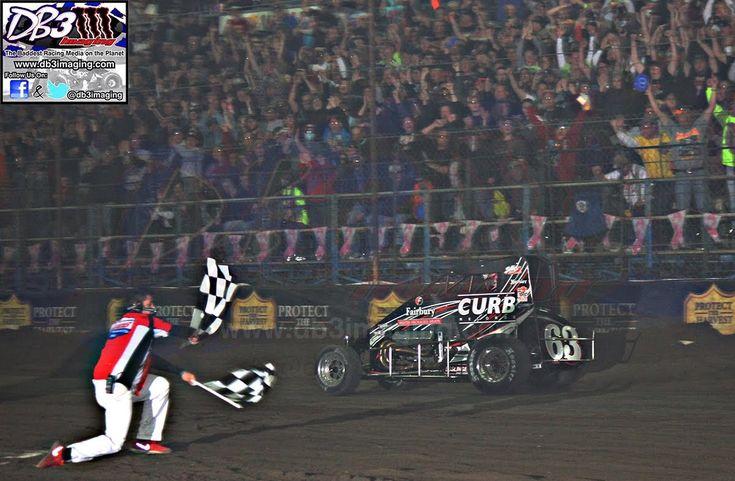 Victory Lane Bryan Clauson