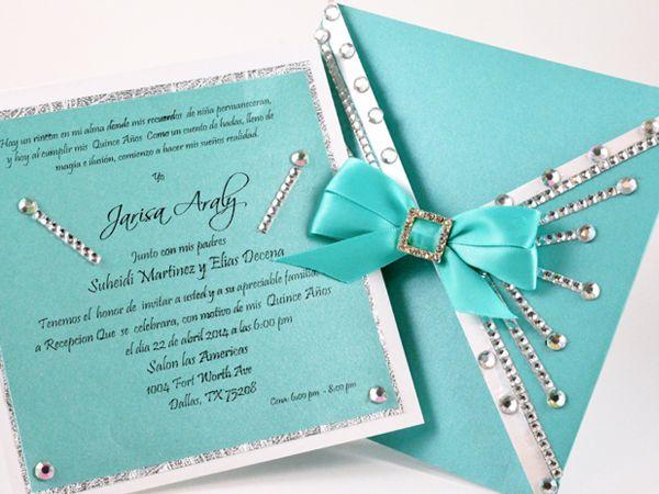 Texto De 15 Anos: Dream On Glitter Invitations Photo Gallery Dallas, TX