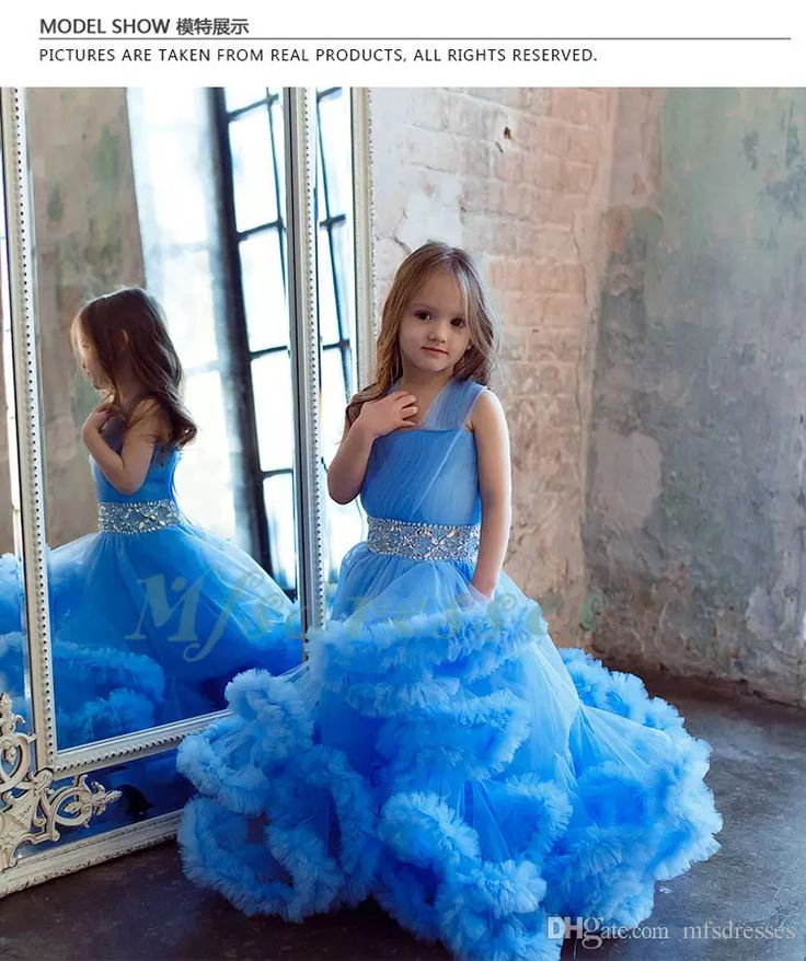 Cloud Little Flower Girls Dresses for Weddings Baby Party Frocks Real Image Luxury Girls Pageant Dress Kids Prom Dresses Evening Gowns 2017 Flower Girl Dresses Cloud Flower Girls Dresses Girls Pageant Dresses Online with $128.58/Piece on Mfsdresses's Store | DHgate.com