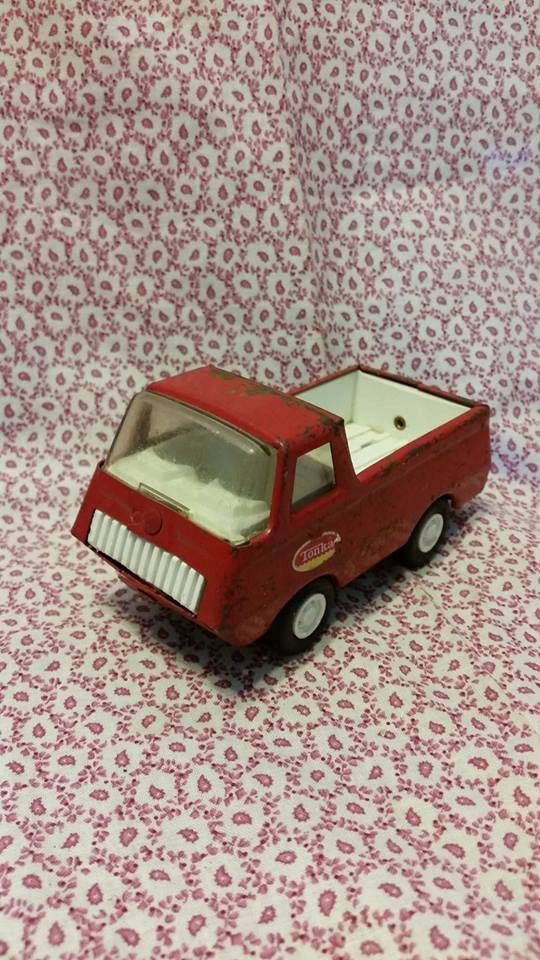Vintage Tonka Truck by TheHappyHoarders on Etsy