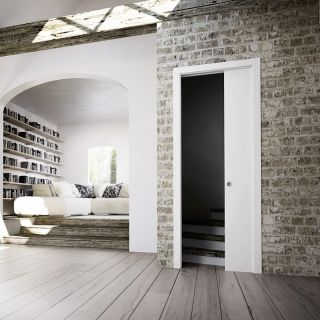 scrigno ma trise l 39 art de dissimuler une porte coulissante et il le prouve avec son contre. Black Bedroom Furniture Sets. Home Design Ideas
