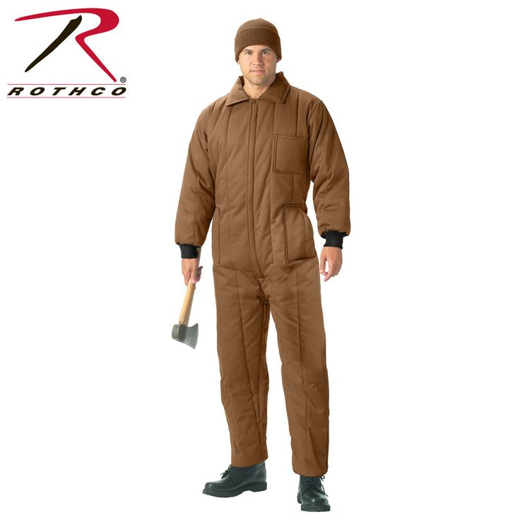Rothco Insulated Coveralls #9015 MSRP $98.99-$108.99 New with Tags #Rothco