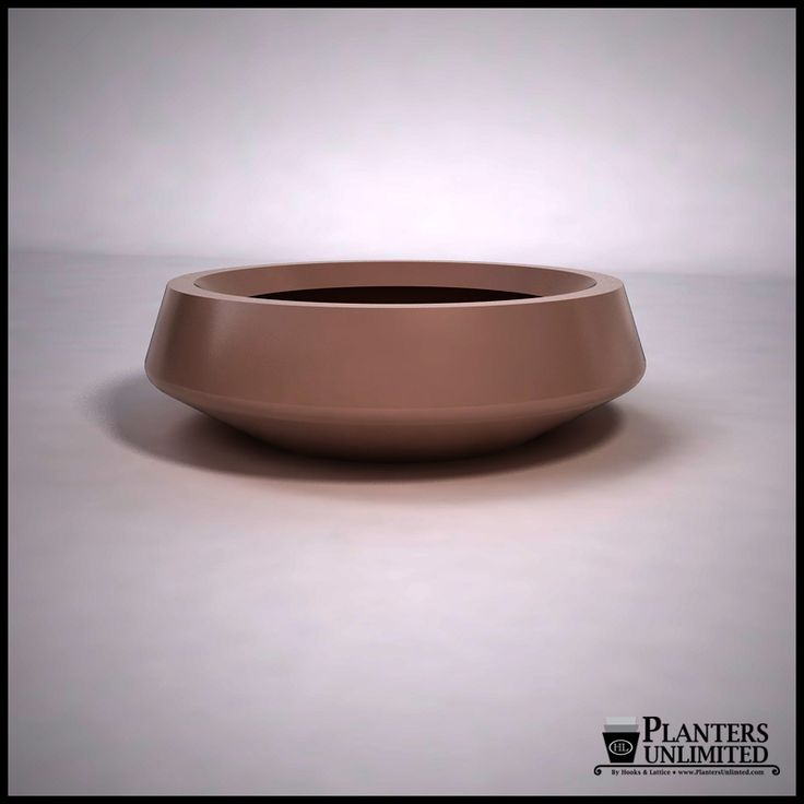 "Bristol Low Bowl Planter 40""Dia. x 12""H $625.85"