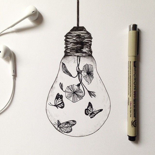 Lamp Project.  Find my other drawings lamp at my shop alfredbasha.bigcartel.com ( link in bio ).