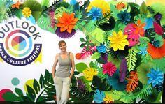 Tropical Party Decorations Hawaiian Party Decor por PapierDeco