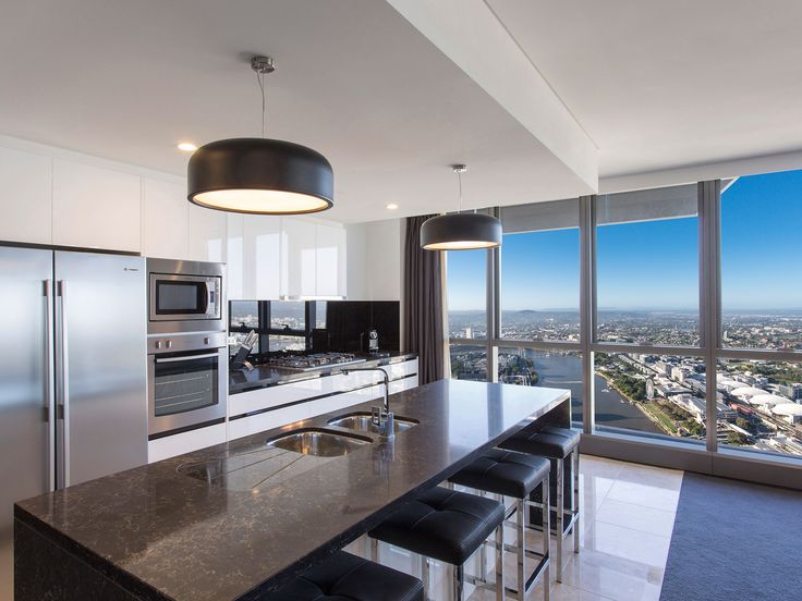 3 Bedroom #Penthouse Apartment #Meriton #Luxury #Hotel #Brisbane #Herschel Street