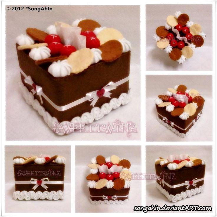BisChoc Berry Tissue Cake Box.. by SongAhIn.deviantart.com on @DeviantArt