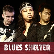 """App name: Gugun Blues Shelter. Price: $1.99. Category: . Updated:  May 19, 2012. Current Version:  1.0. Size: 180.00 MB. Language: . Seller: . Requirements: Compatible with iPhone 3GS, iPhone 4, iPhone 4S, iPod touch (3rd generation), iPod touch (4th generation) and iPad.Requires iOS 4.0 or later.. Description: The official app of Gugun Blue  s Shelter a.k.a. Gugun Power T  rio, in collaboration with Env  o (PT Enervolution).This app f  eatures:1. MUSIC    - """"The  lip;  ."""