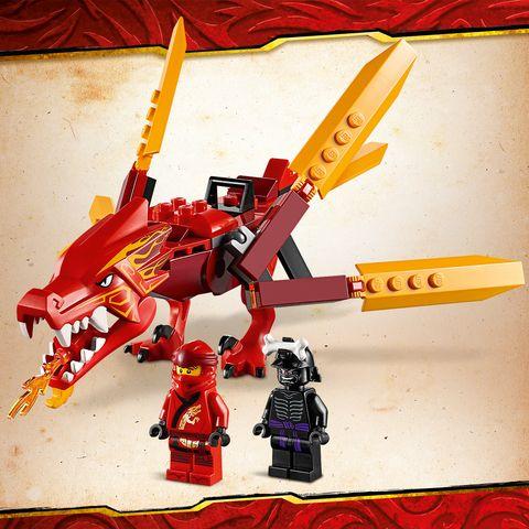 LEGO NINJAGO Legacy Kai's Fire Dragon 71701 Building Kit ...