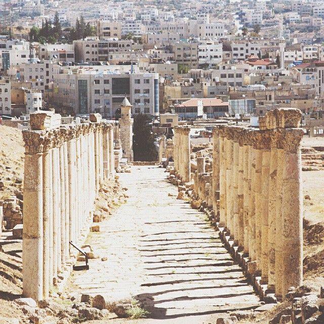 Jerash (or Gerasa), #Jordan