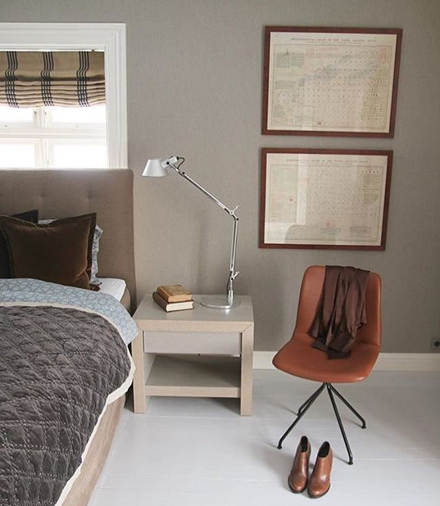 Primum Chair in @villacecilies's lovely bedroom.