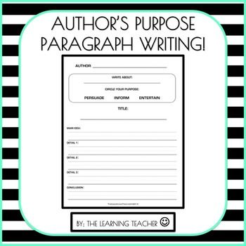 Write with a Purpose!