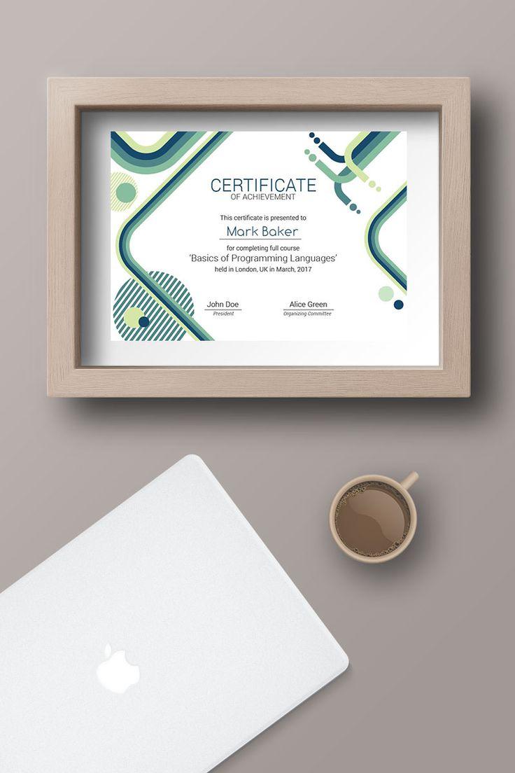 IT Courses Certificate Template 66205 Certificate