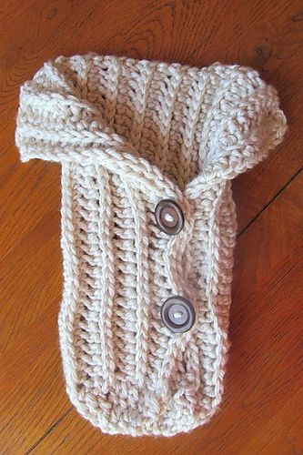 Ravelry: LBK63's Chunky Baby Cocoon-Crochet