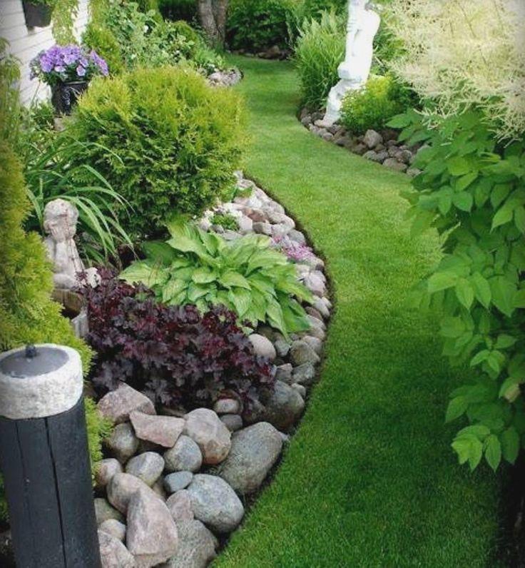 Best 25+ Rock garden borders ideas on Pinterest | Rock ...