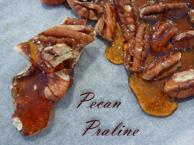 Deliciously crunchy Pecan Praline * Get the recipe at TIFFIN - bite sized food adventures