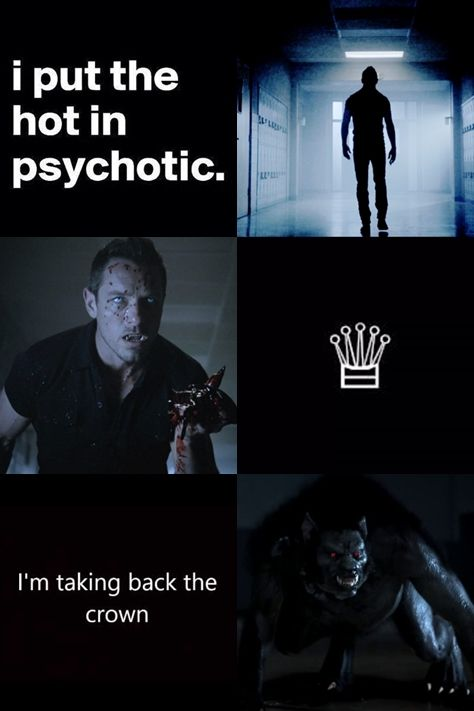 "Peter Hale - Teen Wolf ""I've always been the Alpha! "" For: @rosewood-pd Everyone feel free to send in requests here!"