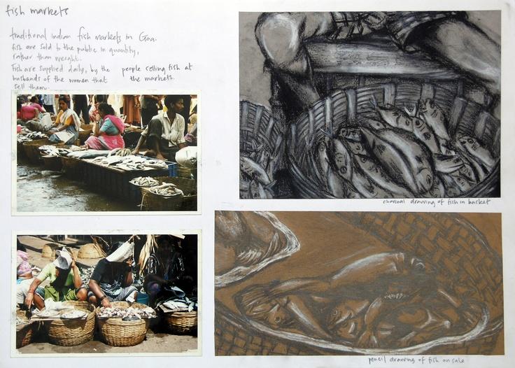 IGCSE Art and Design  An exemplary Coursework Project