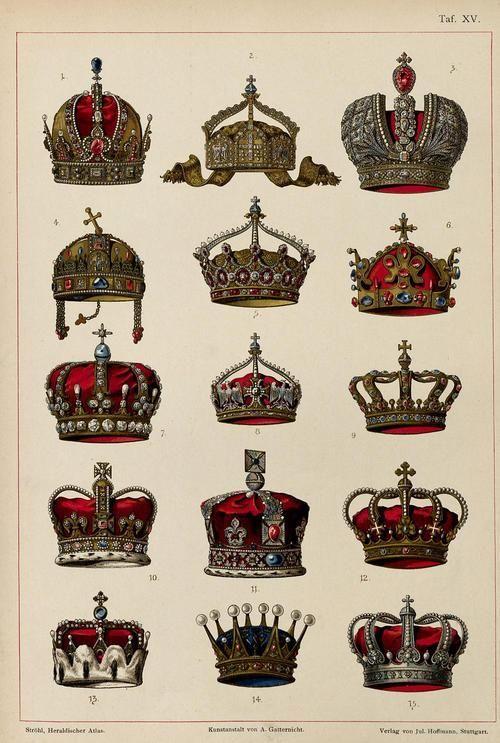 1. Austrian Empire: Crown of Rudolf II, Holy Roman Emperor2. German Empire: German State Crown3. Russian Empire: Great Imperial Crown4. Kin...
