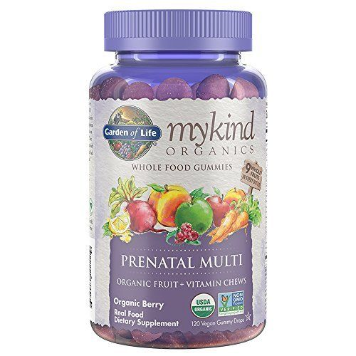Enjoy the wonderful ride to motherhood with mykind Organics Prenatal Multi Gummies—Certified USDA Organic and Non-GMO Project Verified fruit and vitamin gummies. Made with nine organic whole fruits in every bottle—no synthetic vitamins—mykind Organics Prenatal Multi Gummies contain no candy ingre... more details at http://supplements.occupationalhealthandsafetyprofessionals.com/vitamins/multi-prenatal-vitamins/prenatal-vitamins/product-review-for-garden-of-life-prenatal