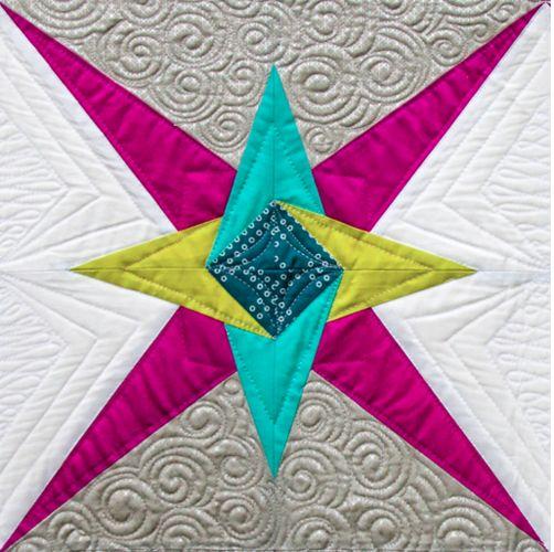 Chevron Star PDF Pattern - Freshly Pieced Quilt Patterns - 4