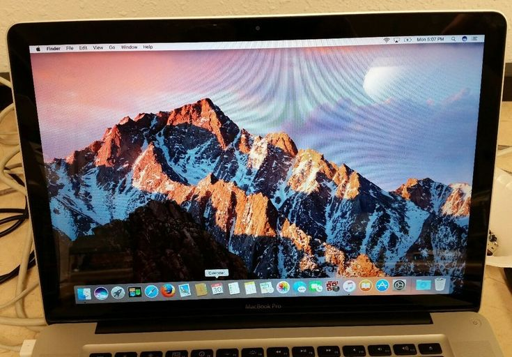 macbook pro 15 2011 (I7, 240 ssd, 8gb ram) professionally refurbished  #Apple