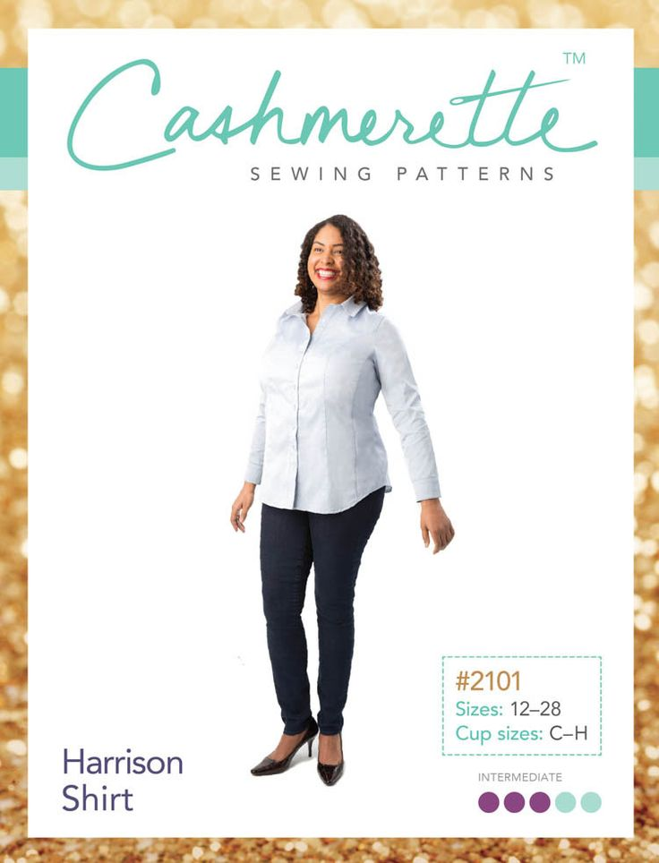 Harrison Shirt pattern - Cashmerette Patterns