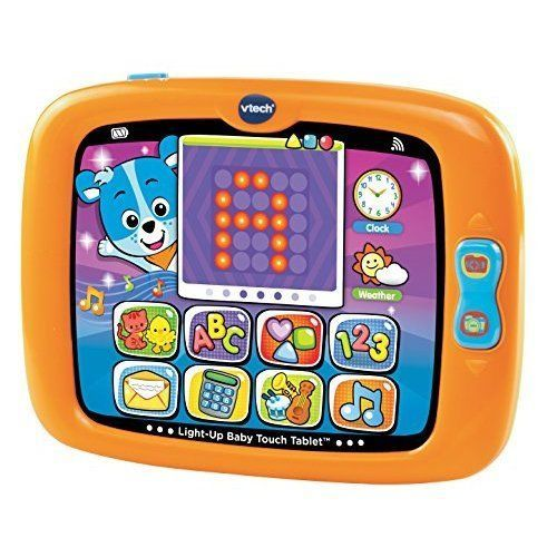 Kids Babies Tablet Educational Developmental Toy Letters Numbers Shapes Music  #VT
