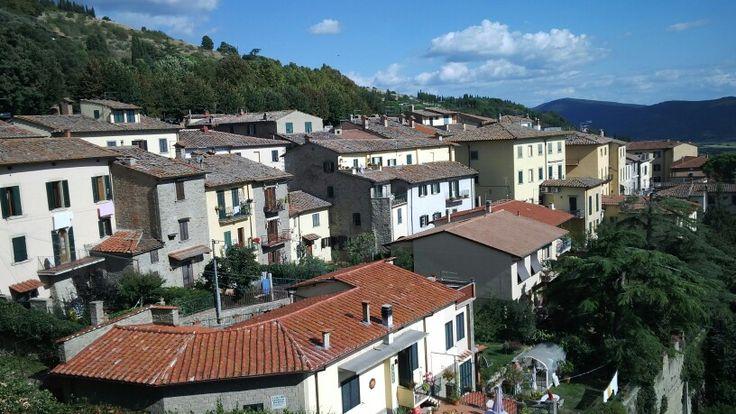 bellissimo villaggio a Cortona