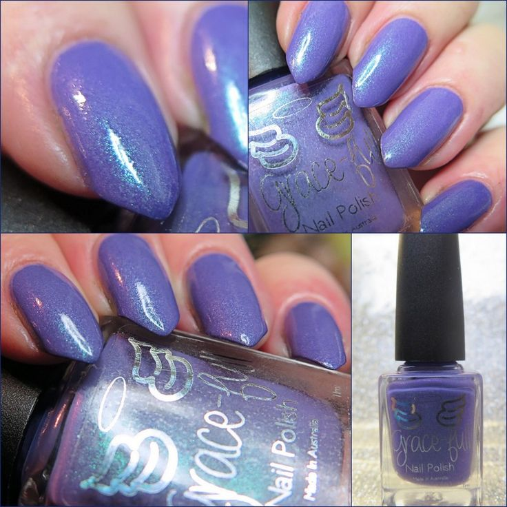 Peace and Tranquillity – a medium purple shimmer with a tricky duochrome shimmer. Depending on the light the shimmer shines blue or green in the lightNitty gritty:*Your polish comes in a 11ml...