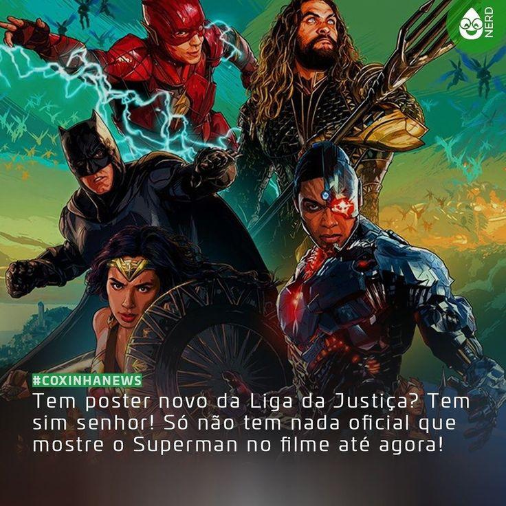 #CoxinhaNews CADÊ O SUPERMAN???  #TimelineAcessivel #PraCegoVer  Foto do novo poster da Liga da Justiça com a notícia: Tem poster novo da Liga da Justiça? Tem sim senhor! Só não tem nada oficial que mostre o Superman no filme até agora!  TAGS: #coxinhanerd #nerd #geek #geekstuff #geekart #nerd #nerdquote #geekquote #curiosidadesnerds #curiosidadesgeeks #coxinhanerd #coxinhafilmes #filmes #movies #cinema #euamocinema #adorocinema #cinefilos #justiceleague #ligadajustica #dccomics #dcmovies…