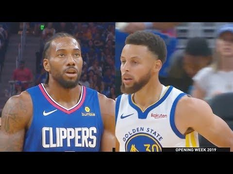 24. Oktober 2019 – VIDEO Los Angeles Clippers gegen Golden State Warriors Full Game …   – Sports News/Information, Memorable People & Moments – USA, Canada, and International Sports
