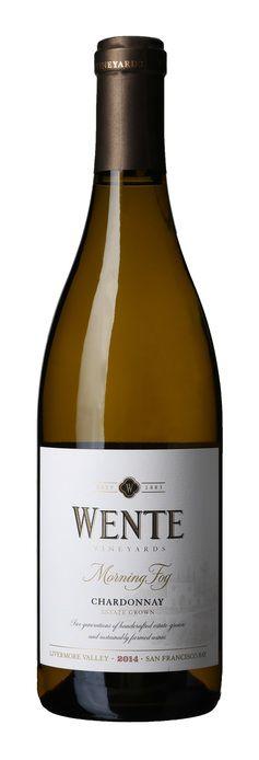 Vinmonopolet >>Hvitvin>125 - 150>USA >Wente Morning Fog Chardonnay 2014