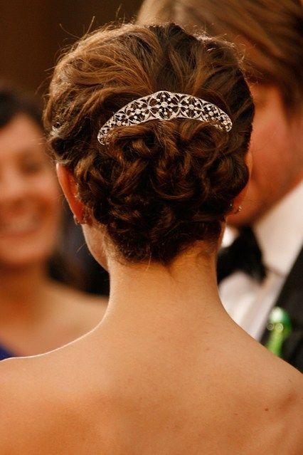 Natalie Portman #Hair #HairJewellery #hairstyle