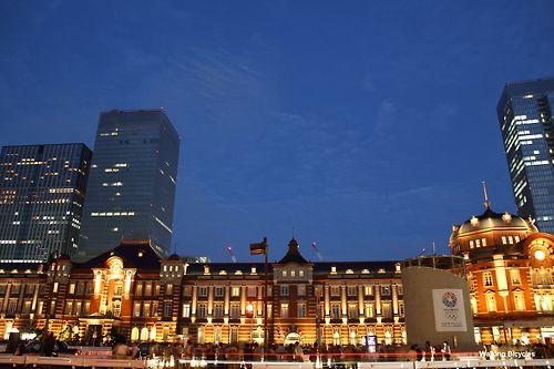 """taka1451: 2012.10.13 東京駅散歩 東京駅丸ノ内駅舎 EOS 60D+17-50mm f2.8 """