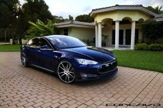 Tesla Model S Aftermarket Wheels Concavo 22 inch