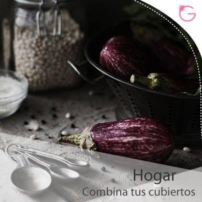 #Hogar Combina tus cubiertos con la decoración de tu hogar, si es rústica puedes tener unos cubiertos de madera, si es clásica, unos cubiertos dorados o plateados.