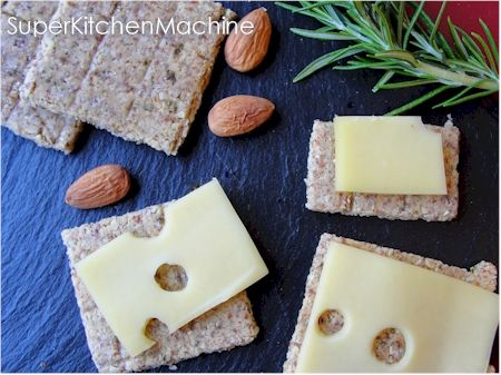 Tenina's Easy Thermomix Gluten-Free Crackers » Super Kitchen Machine (Thermomix)