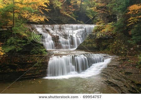 Buttermilk Falls, Ithica NY