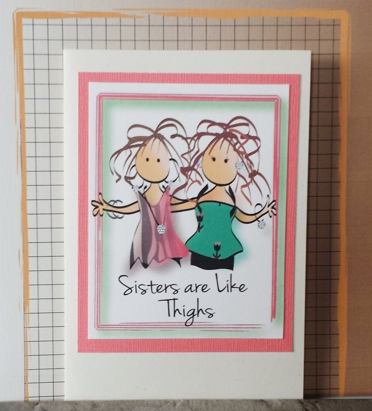 25 best Sister birthday funny ideas – Funny Sister Birthday Cards
