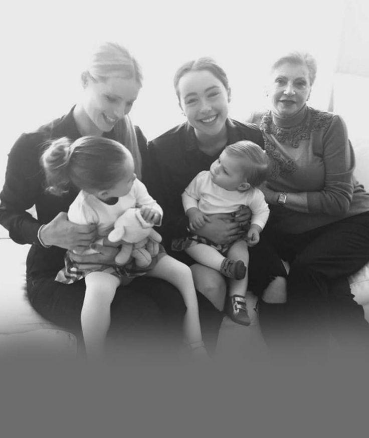MICHELLE HUNZIKER UND FAMIELE