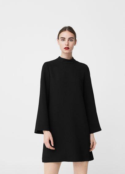 Vestido recto textura