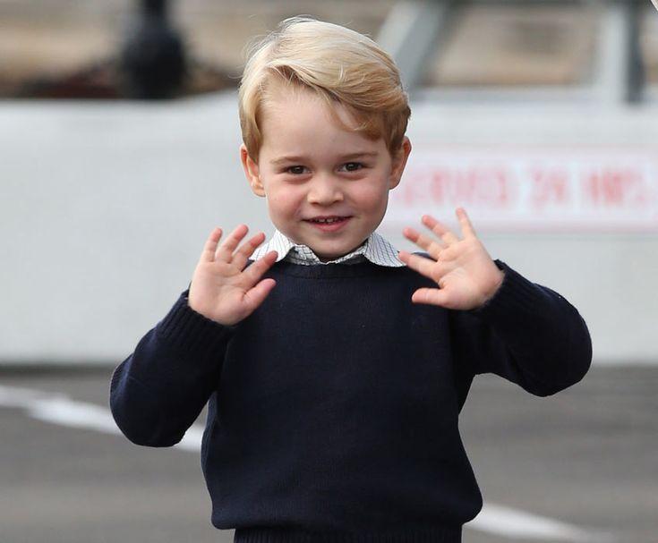 Prince George and Princess Charlotte wave goodbye to Canada - Photo 4