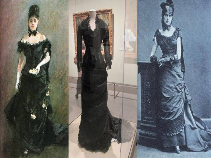 Berthe Morisot Photograph (R). She liked her dress so much ...