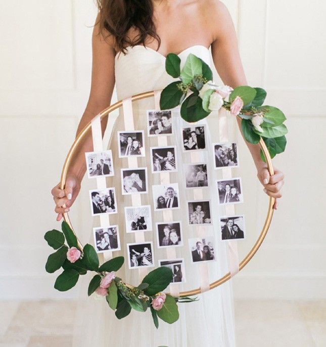 18 Floral Wedding Wreaths That Are Way Prettier Than Flower Crowns via Brit + Co