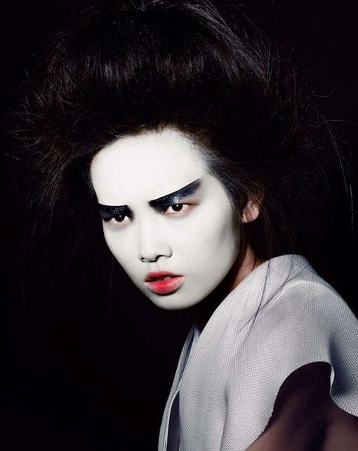 Disheveled Geisha Editorials - The Rodeo Magazine Autumn 2012 Editorial Stars a Painted Grace Gao (GALLERY)