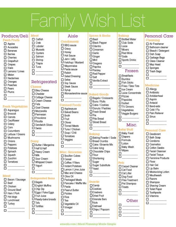 8 best Grocery and what\u0027s for dinner! images on Pinterest Free - grocery list budget spreadsheet